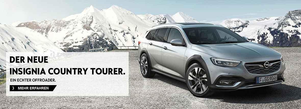 Der neue Insignia Country Tourer