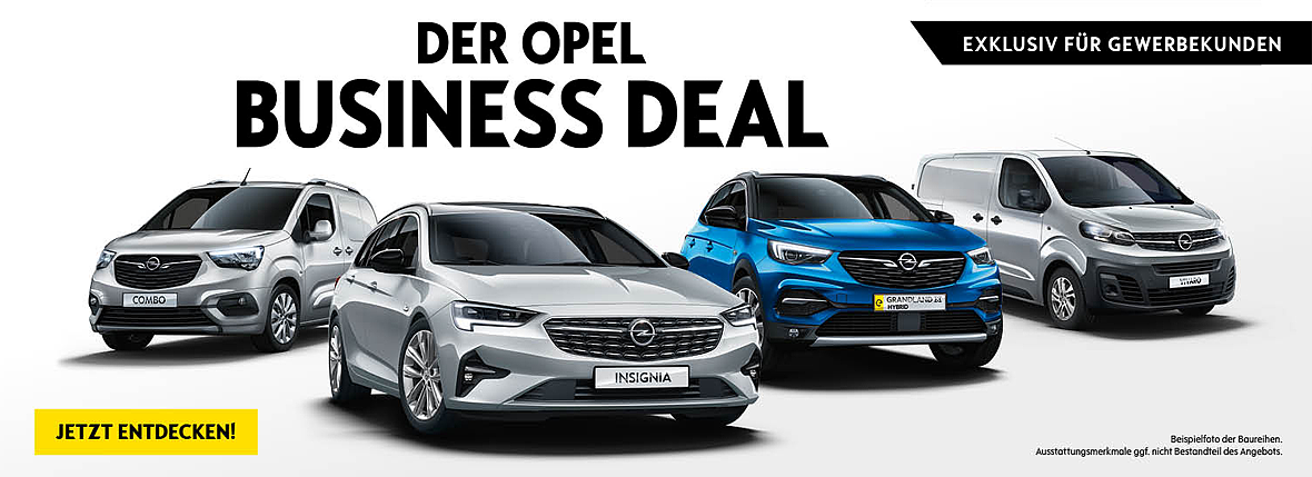 Opel Business Deal