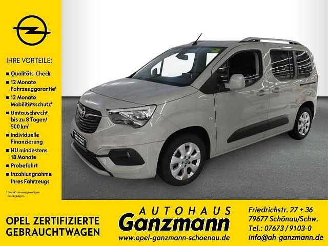 Opel Combo Life 1.5 D Start/Stop Edition, 5-Sitzer, IntelliLink, PDC, Klima, LM, Sitzheizung
